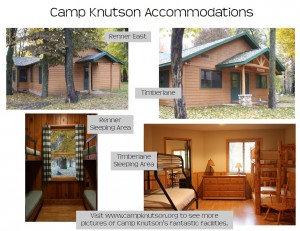 View Photos of Camp Knutson Cabins